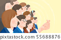 Group of people background illustration 010 55688876