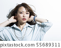Young woman business beauty 55689311