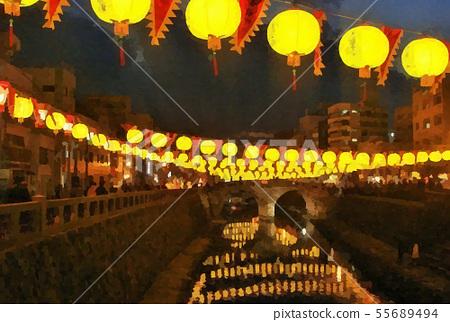 Nagasaki spectacle bridge sightseeing image 55689494