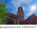 St. Ludgeri catholic church in Muenster, Germany 55692037