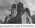 St. Ludgeri catholic church in Muenster, Germany 55692041