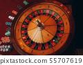 casino gaming table red velvet nightlife 55707619