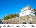 城堡 塔樓 牆壁 55780167
