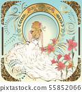 Art nouveau bride 55852066