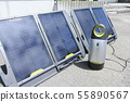 太阳能电池板和便携式电源 55890567