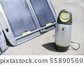 太阳能电池板和便携式电源 55890569