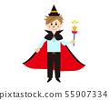 Halloween boy costume cosplay witch 55907334