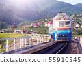 train in the Carpathians 55910545