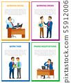 Working Break, Order at Workplace, Work Task 55912006