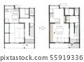 아파트 리모델링 구조 55919336