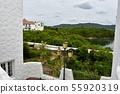 Southern European style cityscape 55920319