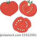 토마토 일러스트 세트 55922081