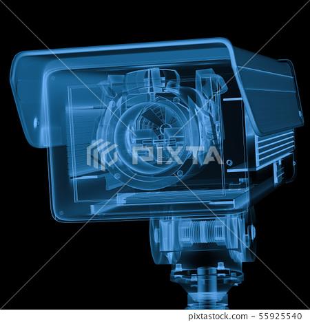 x ray security camera or cctv camera 55925540