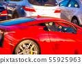 Red, supercar, super sports car, sports car, run, driving 55925963