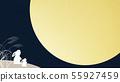 背景 - 日本 - 日式 - 日式 - 日式紙月亮 - 兔 - 秋 55927459