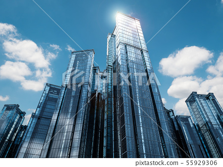highrise office building 55929306
