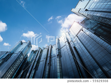 highrise office building 55929308