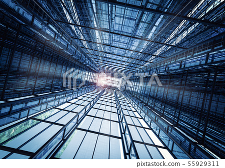 highrise office building abstract background 55929311