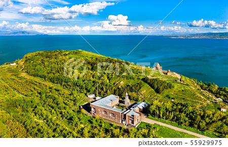 Surb Hakob Chapel and Sevanavank Monastery in Lake Sevan in Armenia 55929975