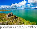 Hayravank monastery on the shores of lake Sevan in Armenia 55929977