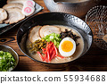 japanese authentic pork bone broth ramen 55934688