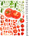 Tomato Collection Abstract 55935141