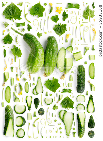 Cucumber Collection Abstract 55935168