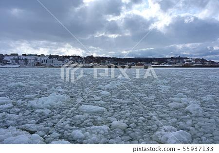 網走漂流冰 55937133