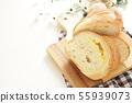 치즈 프랑스 빵 55939073