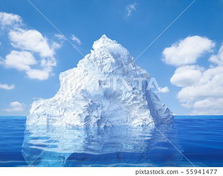iceberg floating 55941477