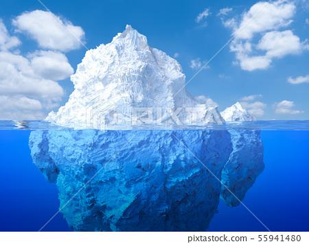 iceberg floating 55941480