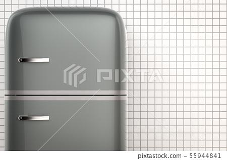 retro design fridge 55944841