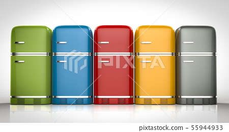 fridges in a row 55944933