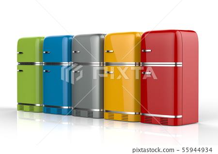 fridges in a row 55944934