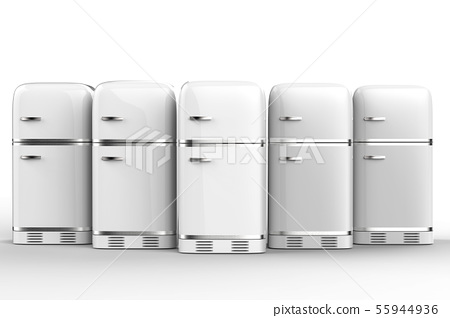 fridges in a row 55944936