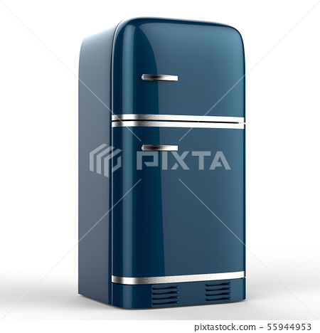 retro design fridge 55944953