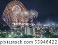시즈오카 현 아타미 해상 불꽃 놀이 55946422