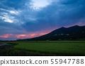 Mount Tsukuba in the thundercloud 55947788