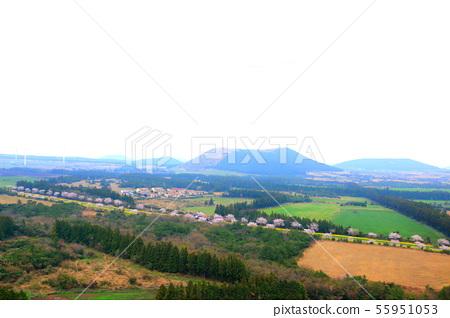 번널오름,동산,언덕,산,전망,농촌풍경 55951053