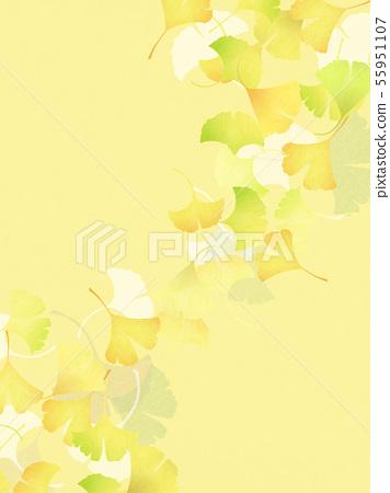 배경 - 일본 - 일본식 - 일본식 디자인 - 종이 - 은행 - 가을 55951107