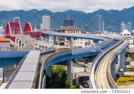 Bridge to Kobe Kansai Japan 55958321