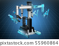 Visualization of robotic surgical system 55960864