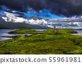 Ruin Of Ardvreck Castle At Loch Assynt In Scotland 55961981