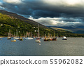 Old Fishing Boats In Ullapool In Scotland 55962082