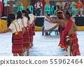 푸가 오 족 축제 댄스 필리핀 55962464