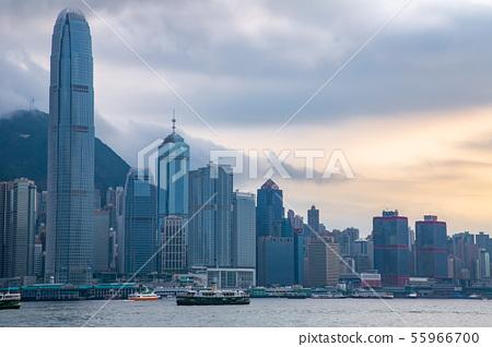 香港維多利亞港Victoria Harbour, Hong Kong 55966700