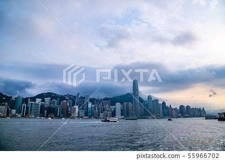 香港維多利亞港Victoria Harbour, Hong Kong 55966702