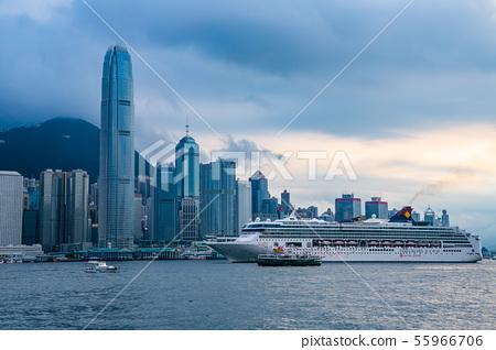 香港維多利亞港Victoria Harbour, Hong Kong 55966706