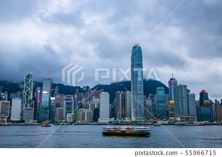 香港維多利亞港Victoria Harbour, Hong Kong 55966715