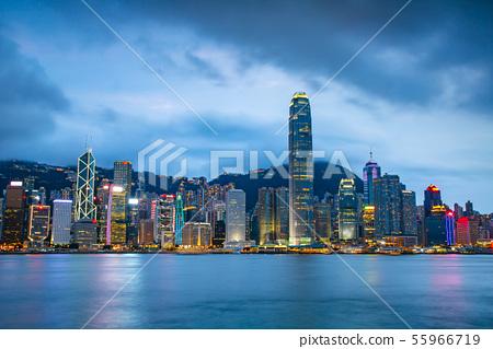 香港維多利亞港Victoria Harbour, Hong Kong 55966719
